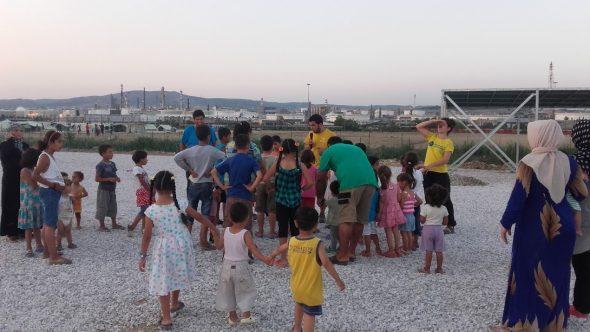 Intervención con niños refugiados en Grecia, una experiencia desde la terapia ocupacional
